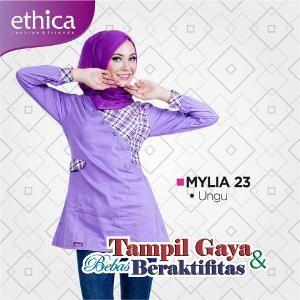 Baju Blus Wanita Ethica MYLIA 23 UNGU