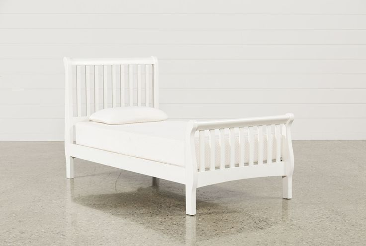 Bayfront Twin Sleigh Bed - Signature