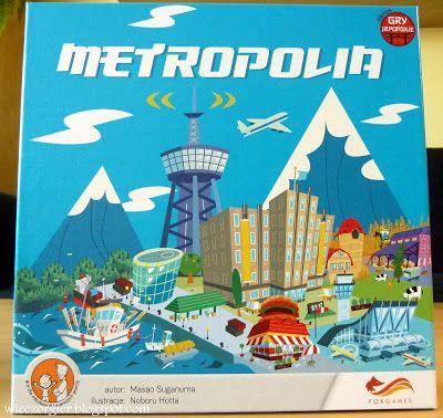 Wieczór gier: METROPOLIA - FOXGAMES - burmistrz może być tylko jeden