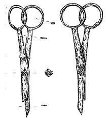 Шарнирные ножницы с надписью «Аллах» на ручке. Гнездово. - See more at: http://sapog.ratobor.com/blog/1264#sthash.daH76GQ6.dpuf