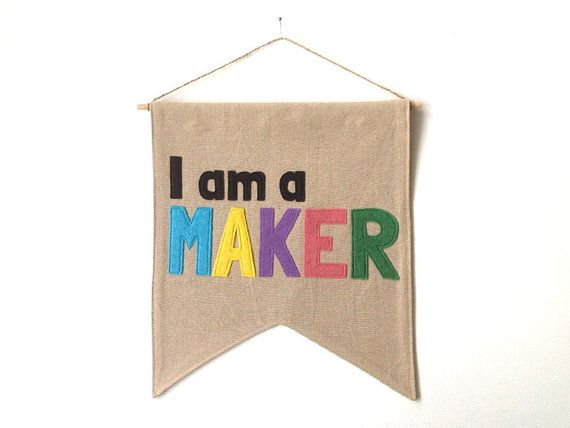 The perfect addition to any maker's wall. A simple reminder of what you do and why you do it.