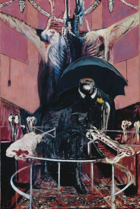'Painting' by Francis Bacon (1946) - Saw this in person at a gallery in Cologne.  Awesome.