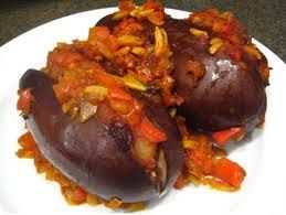 Stuffed Eggplant: Stuffed brinjal or Bharwan Baingan made in different regions of India with a little variation. Brinjal is easy to make and one of the most easily available vegetable in India. There are so many varieties to made stuffed brinjal,one of them onion stuffed Brinjal, The delicious brinjal stuffed with ground spices and onion, served with rice. Stuffed brinjal also made with curry and masala, which is most famous dish from Andhra Pradesh and Karnataka.