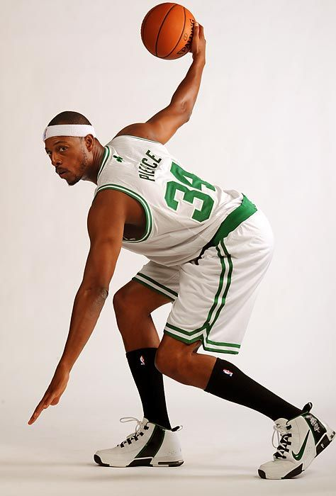 Paul Pierce is ready for the @NBA season to start.  @Boston Celtics