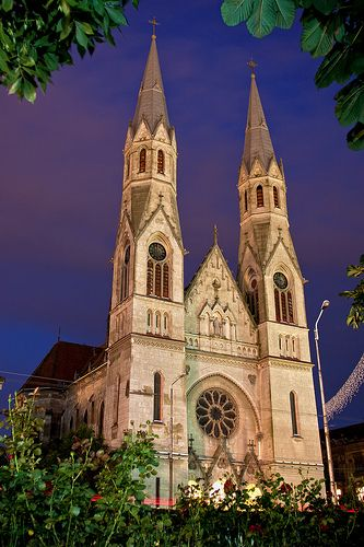 Biserica Romano-Catolica din Elisabet in  Timisoara, Romania