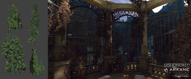 ArtStation - Dishonored Nature, Yannick Gombart