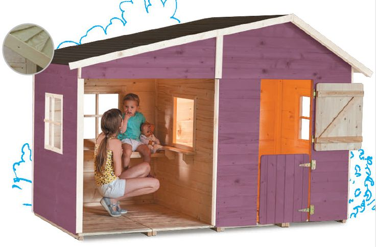Les 61 meilleures images du tableau cabanes enfant sur for Cabane minnie