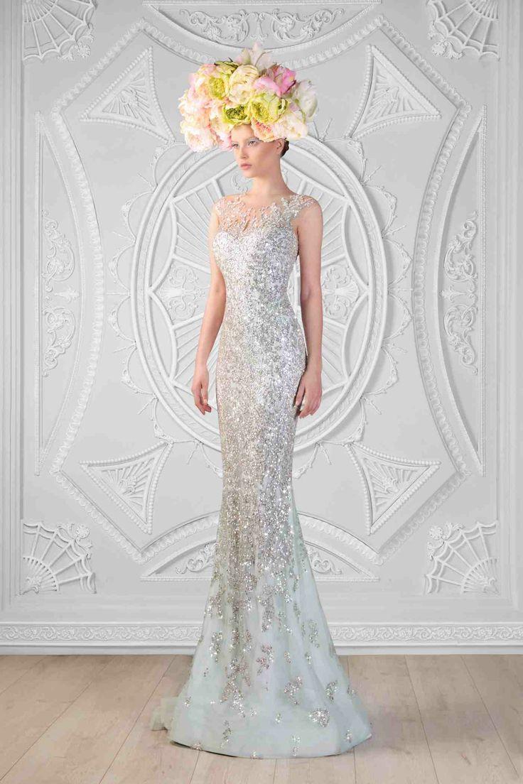 Hand Embroidered Swarovski Dress  Photographer: Odette Kahwaji  Makeup: Fady Kataya  Hair: Salon Le Jack  Model: Velvet Model Management
