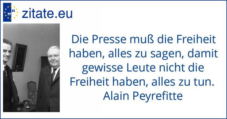 Zitat von Alain Peyrefitte