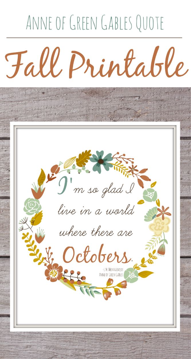The Life Of Jennifer Dawn Free Fall Printable With Anne