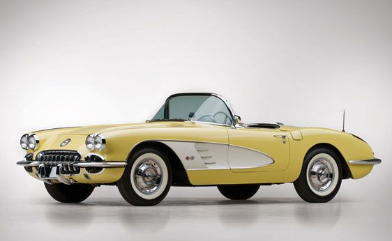 1958 Chevrolet Corvette Convertible Roadster | The John Staluppi Collection 2012 | RM Sotheby's