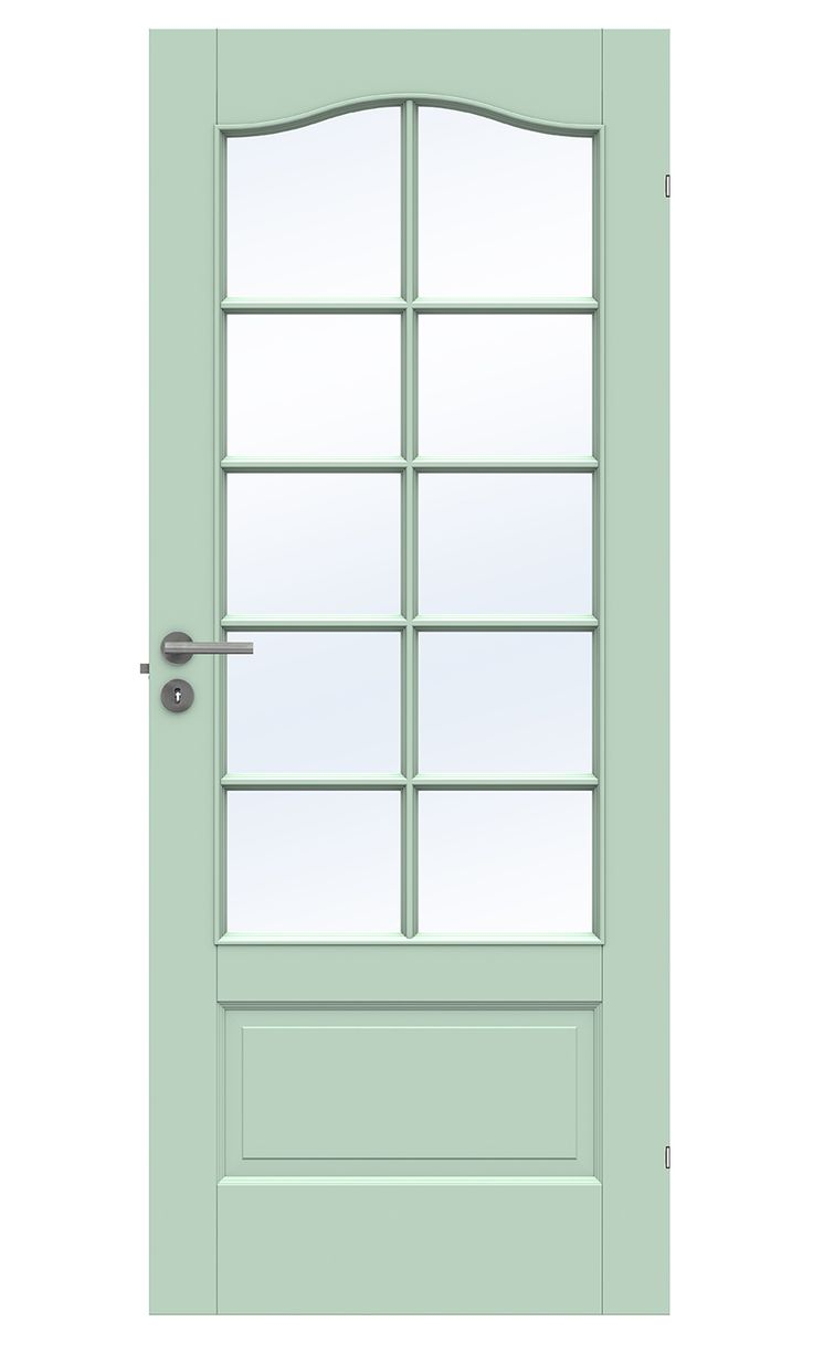 Turquoise door from Swedoor