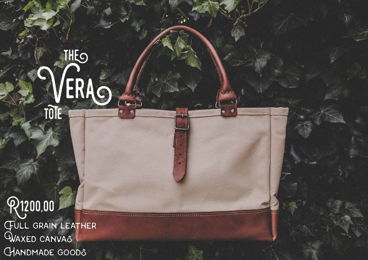 The Vera Tote. Waxed canvas exterior (excluding the beige colour) with full grain leather base and handles. 4 spacious interior pockets. A collector's piece for the vintage at heart. (Available in Beige, Olive Green and Navy Blue with the option of dark brown or tan leather base)