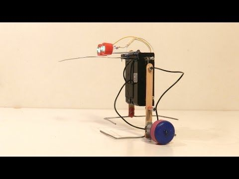 How To Make a Simple Walking Robot That Can Avoid Obstacles - YouTube