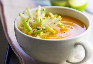 Recept voor wortelsoep met appel en curry | Solo Open Kitchen