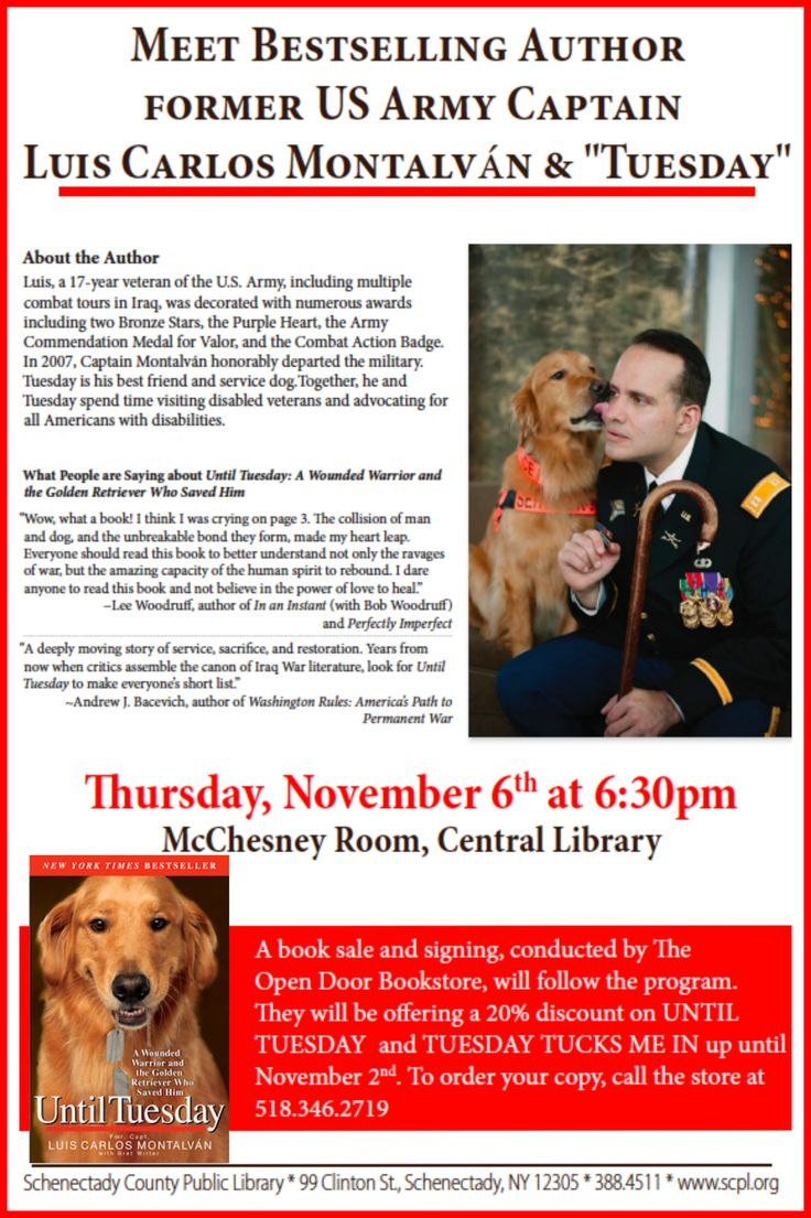Tuesday and I hope to see you on Thursday, November 6, 2014, at Schenectady County Public Library! — in Schenectady, New York.