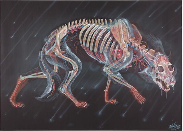Des squelettes d'animaux électrifiés dans l'espace | The Creators Project