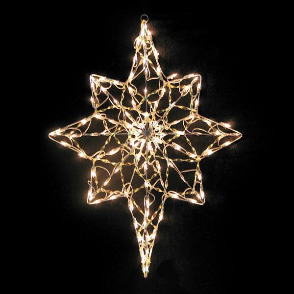 15 best christmas star images on pinterest christmas stars 36 inch iridescent bethlehem star 100 incandescent mini clear lights outdoor christmas aloadofball Images