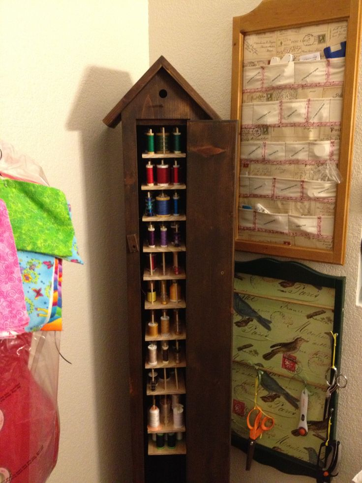 199 Best Quilt Room: Thread Storage Images On Pinterest | Thread Storage, Sewing  Ideas And Sewing Crafts