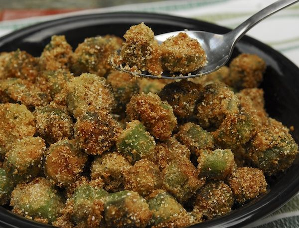 Fried Okra = DELICIOUS