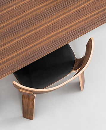 Bento Squarish Dinner Table and Chair by Form Us With Love