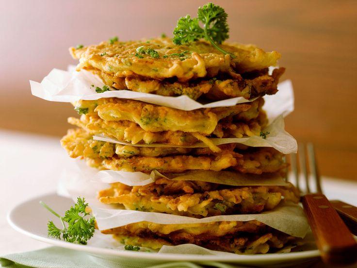 Découvrez la recette Galettes de pommes de terre aux lardons sur cuisineactuelle.fr.