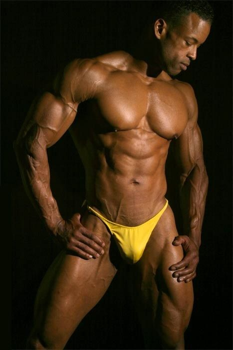 Big black muscle men getting their ass ate 8