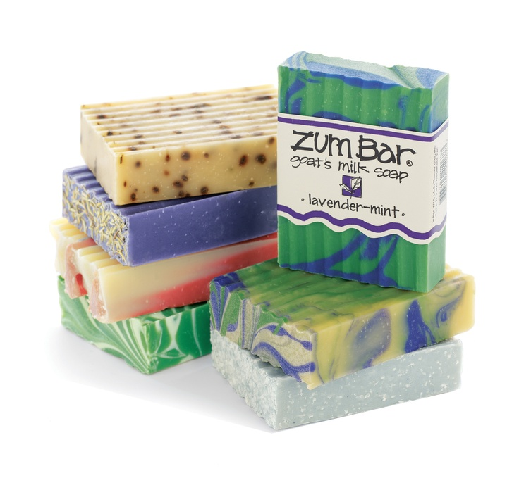 Indigo Wild: Zum Bar Soaps --I like Zum Dragon's Blood Soap, it smells spa-like, and is a soothing softener for dry skin.