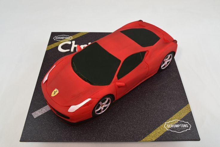 Scrumptons Ferrari Cake
