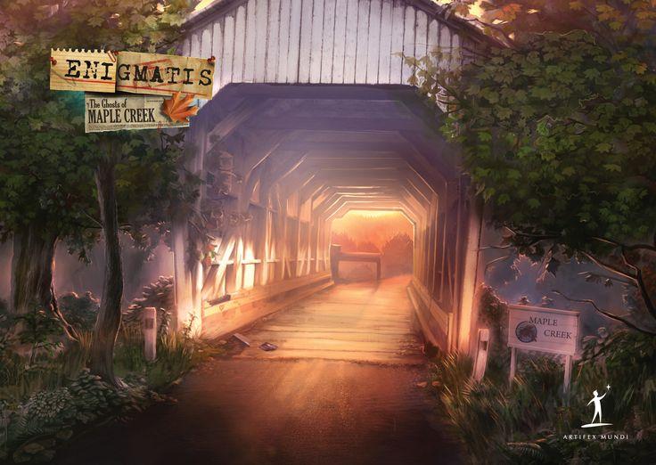 Enigmatis: The Ghosts of Maple Creek (CE)     #enigmatis #artifexmundi #adventure #game www.facebook.com/ArtifexMundi.Enigmatis  http://www.artifexmundi.com/page/enigmatis/