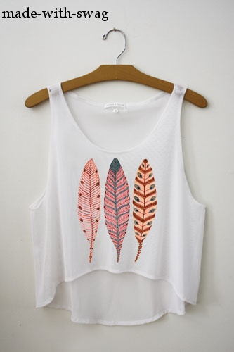 'Feathers' from Made With Swag on Storenvy