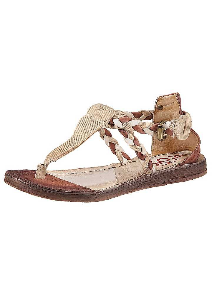 A.S.98 Toe Post Leather Sandals