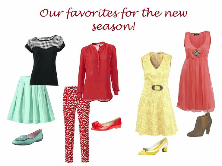 Pic ups from the new season- Spring/Summer 2014