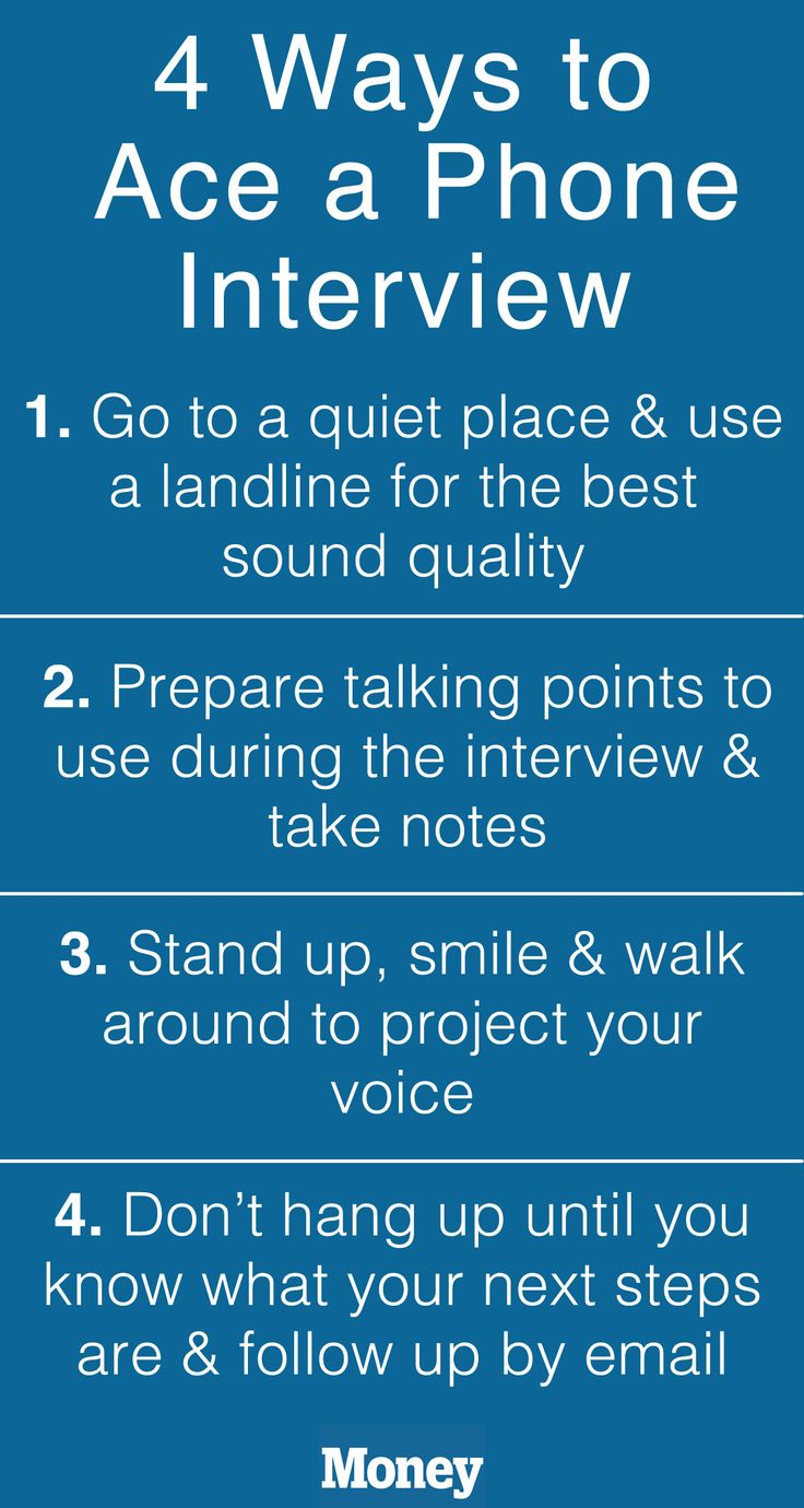 How To Ace A Phone Interview: Make Sure Youu0027re In A Quiet Place