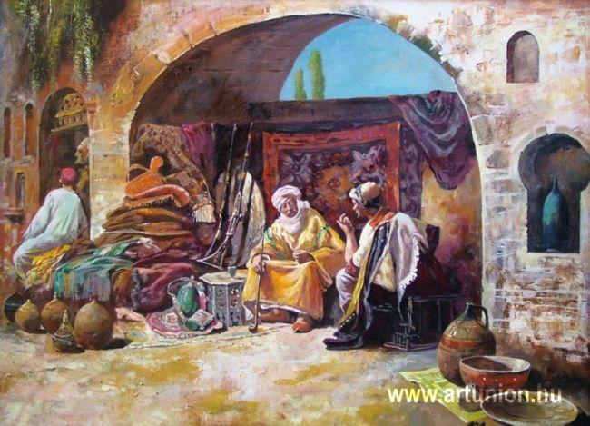 """Adilov Alim """"Keleti szőnyeg vásár"""""""