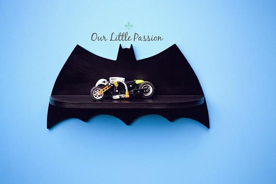 Hey, I found this really awesome Etsy listing at https://www.etsy.com/listing/529843130/batman-iii-shelf-shelf-for-baby-nursery