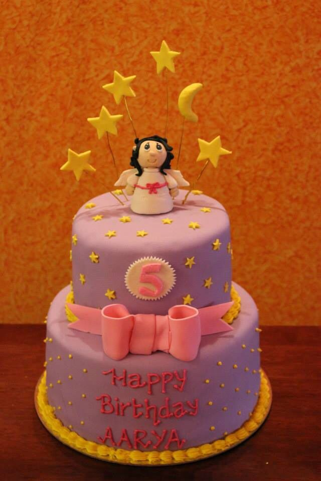 Two tier birthday cake!