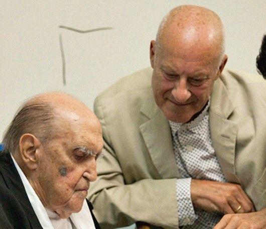 Norman Foster Talks Meeting Niemeyer