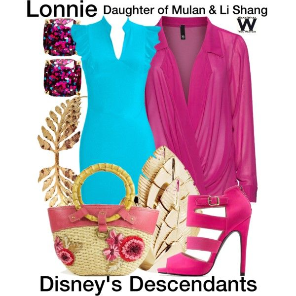 Inspired by Dianne Doan as Lonnie, daughter of Mulan & Li Shang in Disney's 2015 TV movie Descendants.