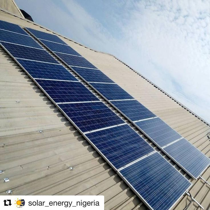 #Repost @solar_energy_nigeria (@get_repost)  Installation Alert 4 #KW #Solar #Energy System Installation in #Lekki #County Homes #Ikota #Lagos.  16 Units x 250 #Watts #SolarPanels  4KW (5Kva) #Hybrid #Inverter  #Charge Controller.  8 Units of 12v 200AH #DeepCycle #Batteries.  Powers the avearage 4-5 Bedroom Apartment with 1 AC. OUR EASY PAYMENT PLAN  With our LTO (Lease - To- Own) Option.  Client only pays 35% of system cost while spreading remainder 65% balance over 24 Months paying equal…