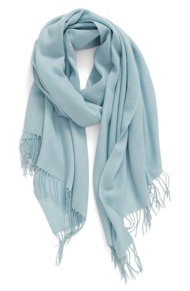 Nordstrom Tissue Weight Wool & Cashmere Scarf available at #Nordstrom