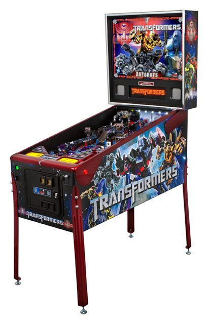 - Product Description - Product Specs - About Transformers Autobot Limited Edition Pinball Machine The Transformers pinball machine line represents a continuing initiative by Stern Pinball to manufact