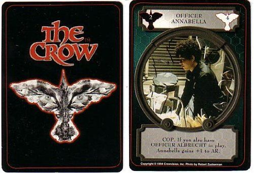 Officer Annabella Crow Ccg Single @ niftywarehouse.com #NiftyWarehouse #TheCrow #Crow #Movie #Film #Cult #CultMovies #CultFilms