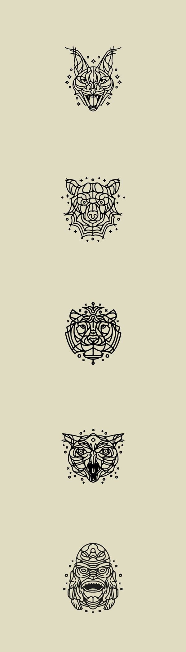 Animal Tattoo's 2 (small compilation) on Behance