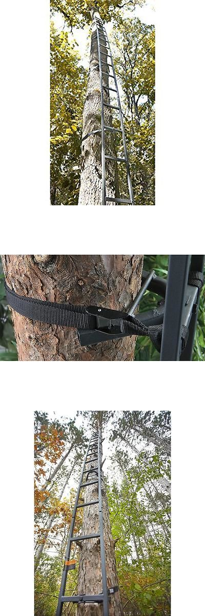 Tree Stands 52508: Deer Hunting Ladder Tree Stand 20Ft Sniper Rifle Bow Treestand Man Climbing New -> BUY IT NOW ONLY: $61.95 on eBay!
