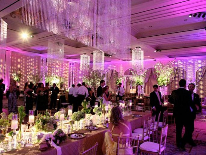 10 best images about wedding ballroom on pinterest for Ball room decoration