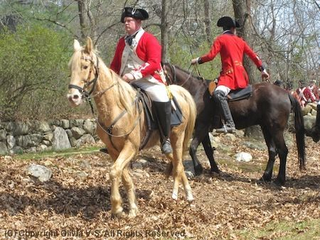 Patriots Day re-enactment schedule April 11-20th 2015