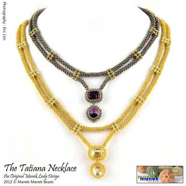 Cubic Right Angle Weave Necklace | CRAW | http://imagestack.co/238676291-cubic-right-angle-weave-necklace.html