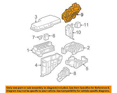 TOYOTA OEM 02-03 Camry Electrical Fuse Relay-Junction Block 8273033030