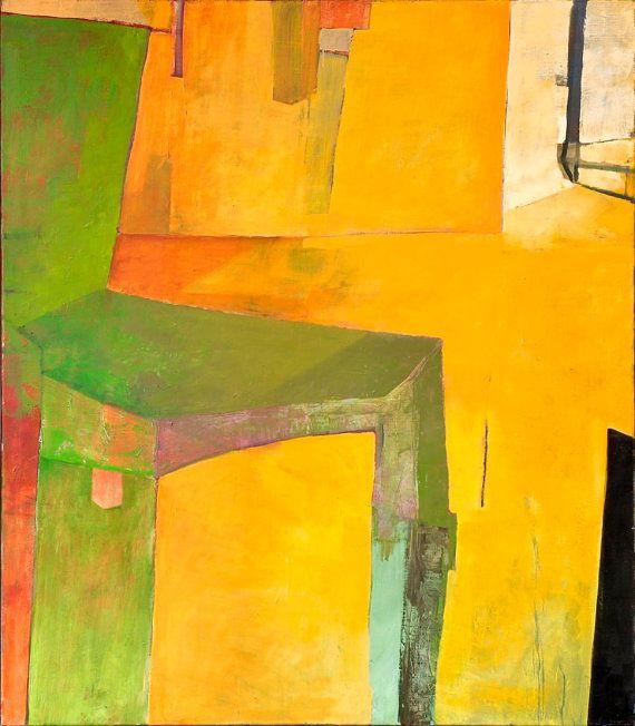 Pittura a olio su tela dipinto originale arte di TakeArtStudio